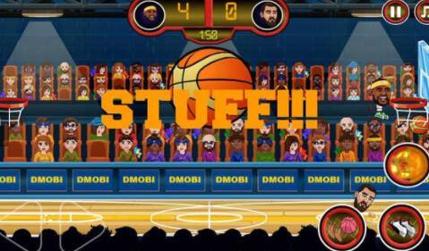 篮球传奇扣篮比赛中文版 v1.0.0 安卓版