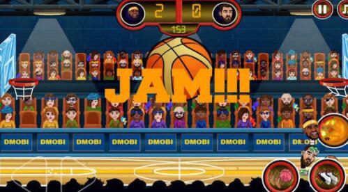 篮球传奇扣篮比赛