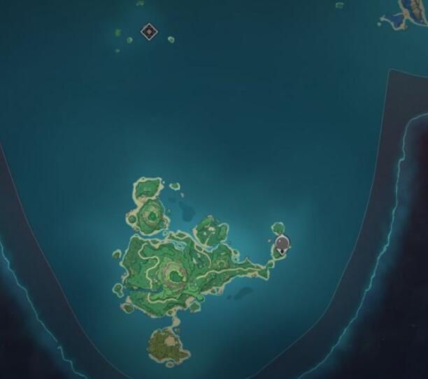 原神鹤观岛在哪 具体位置介绍